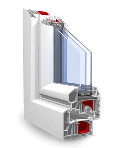 Пластиковый профиль окна